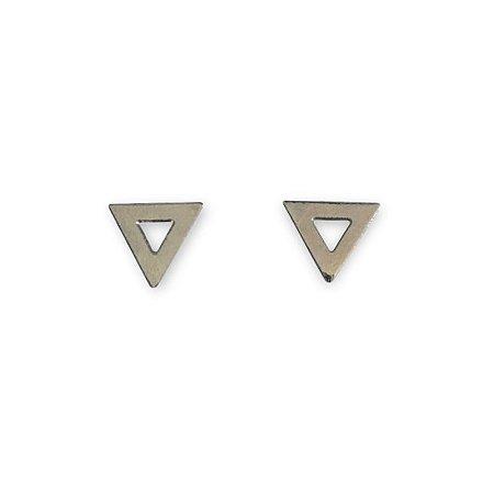 Brinco Triângulo níquel