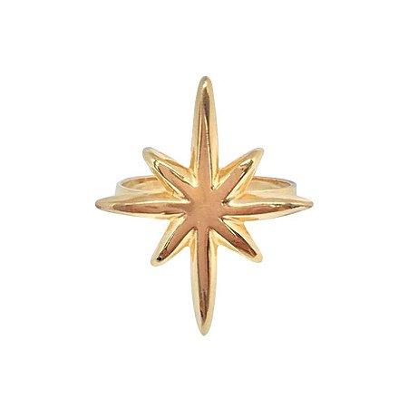 Anel Estrela dourado