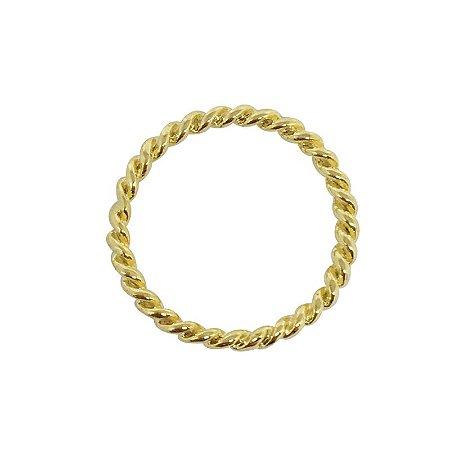 Anel Corda dourado