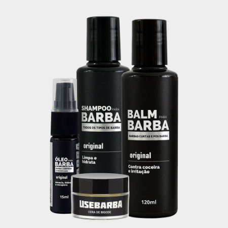 KIT QUARTETO USEBARBA
