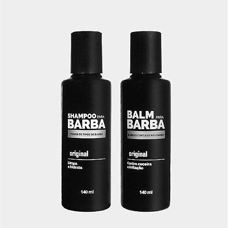 KIT SHAMPOO + BALM PARA BARBA