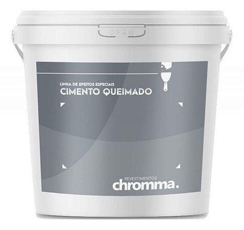 Cimento Queimado Chromma PISO Balde 25kg