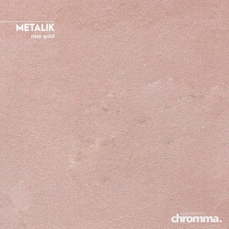 Metalik Chromma ROSE GOLD - Pote 1,15kg