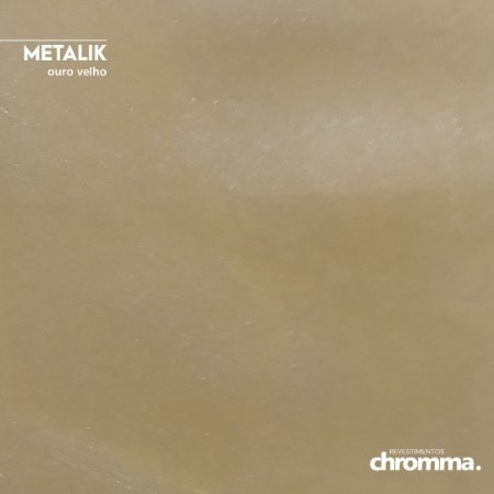 Metalik Chromma OURO VELHO - Pote 1,15kg