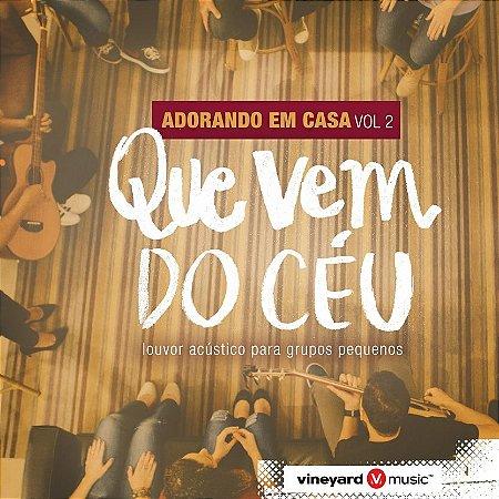 CD ADORANDO EM CASA VOL 2