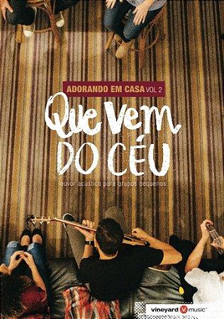 DVD ADORANDO EM CASA VOL 2
