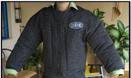 Jaqueta do Macacão Bite Suit Modelo Francês Semi Treino
