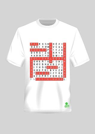 Camiseta Caça Palavras