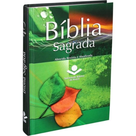 Bíblia Sagrada Revista e Atualizada - Capa Dura