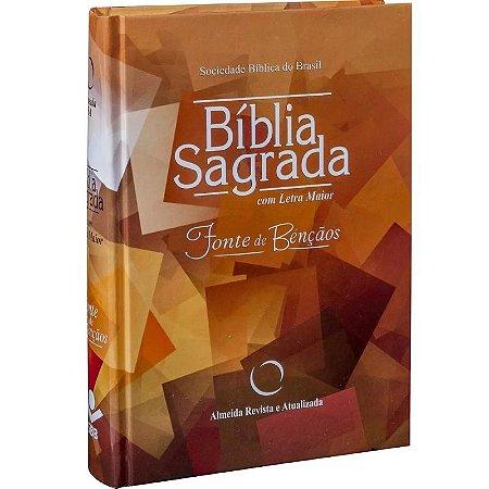 Bíblia Sagrada Fonte de Bençãos - Capa Dura - SBB