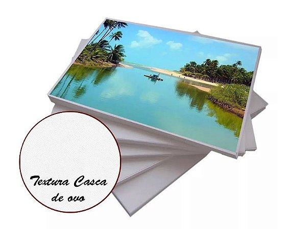 Papel Fotográfico Textura Casca de Ovo 200g - A4 com 20 Folhas