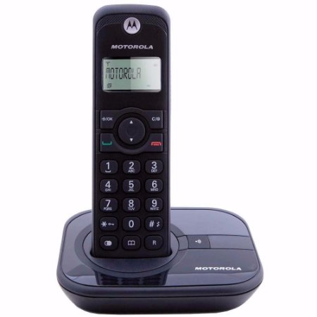 Telefone Digital Sem Fio Motorola Gate4000 Preto