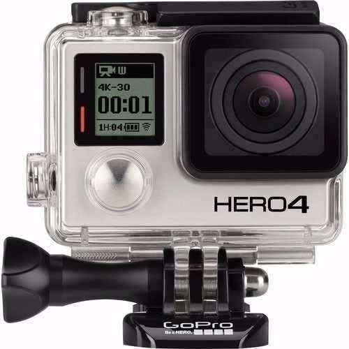 Filmadora Go Pro Gopro Hero 4 Silver Tela Lcd Original