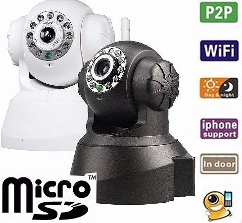 Câmera Ip Ir Wireless Visão Noturna