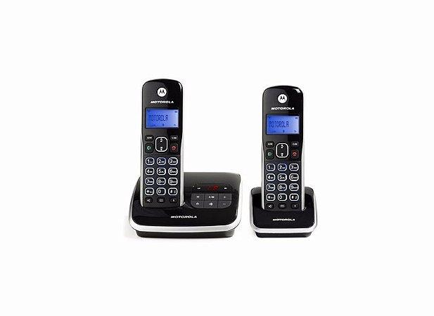 Telefone Motorola Sem Fio Dect 6.0 Com Secretária Eletrônica