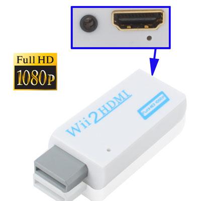 Adaptador Nitendo Wii Para - Hdmi - Mig Tech