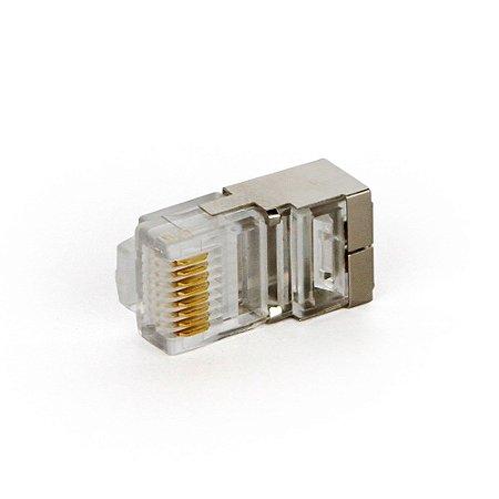 Conector Rj45 Blindado Speed Lan