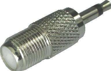 Plug P2 Mono Para conector F -  Fêmea