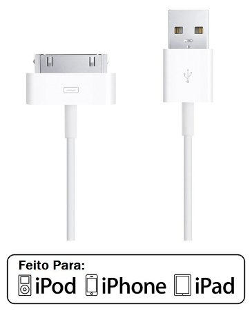Cabo Usb Para iPhone, iPod E iPad