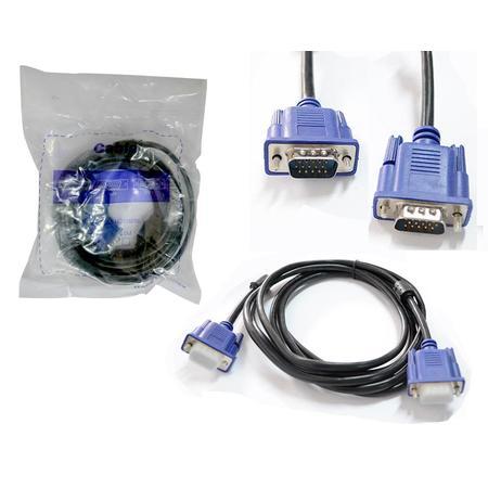 Cabo Vga Macho Com Filtro Para Monitor 1.50M