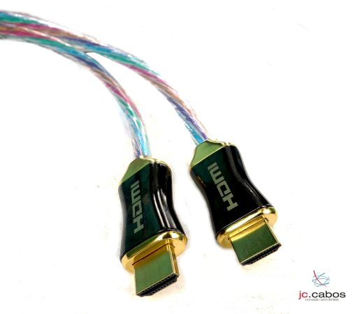 Cabo Hdmi Profissional 1.4 Transmissão 4K Gold 1.80M