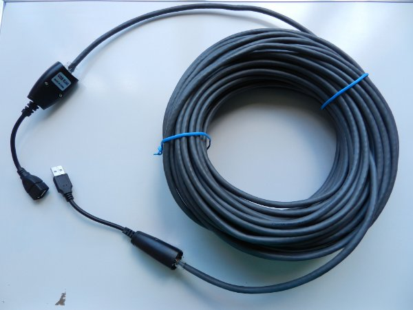 Extensor USB 2.0 cat6 com 10 metros