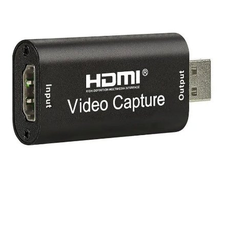 Placa de captura HDMI via USB  4k Full HD