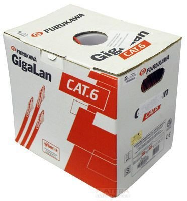Caixa De Rede Cat-6 Gigalan Furukawa 305 m Cinza