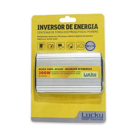 Inversor de energia 12v  para 110v  300w
