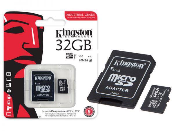 Cartão De Memoria Classe 10 Kingston 32gb Micro Sd 8gb Com Adaptador Sd