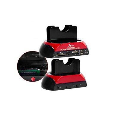 Adaptador USB 2.0 para Ide Sata mini Ide - estação de dados