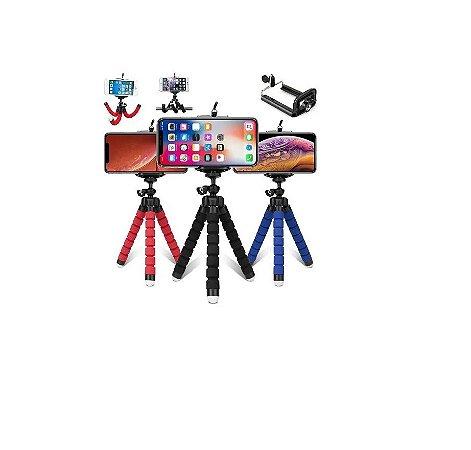 Tripé Para Celular e Câmera Flexível Multi Posição