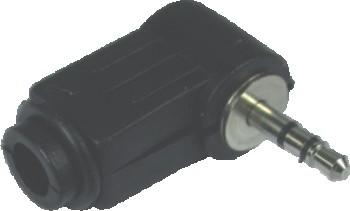 Plug P1 90 Graus Preto