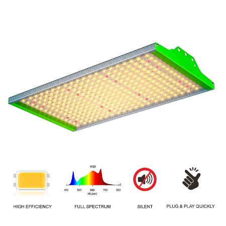 Painel de LED Quantum Board GROWPRO SUPER BRIGHT 100W SMD Horticultural Diodos 3000K + Red 660nm- BIVOLT 110/220V