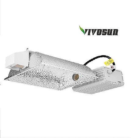 Sistema de Iluminação Horizontal  VIVOSUN CMH 630W com Reator Digital Integrado - BIVOLT 110/220V