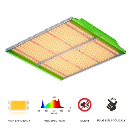 PAINEL LED GROWPRO SUPER BRIGHT MID200W SMD HORTI CHIPS PHILIPS 3500K + IR 730nm + RED 660nm- BIVOLT 110/220V