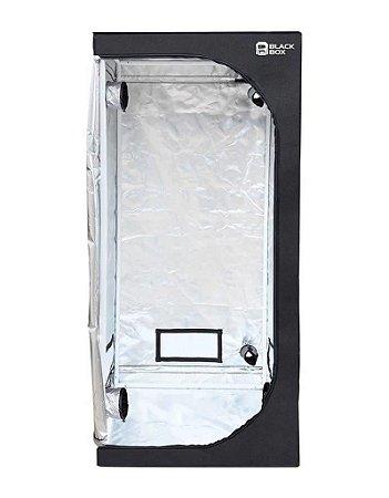 Estufa Cultivo Indoor BLACKBOX 40x40x120cm com Revestimento 600D DIAMOND 98% de Reflexão