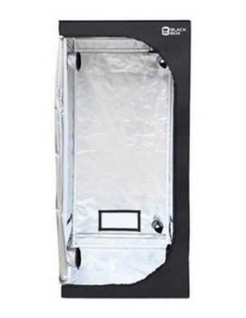 ESTUFA AGRICOLA BLACKBOX50 ESTRUTURA DE ACO 16MM (5/8) 50X50X100CM E CANTONEIRAS DE ACO REVESTIDA COM LONA REFLETIVA 600