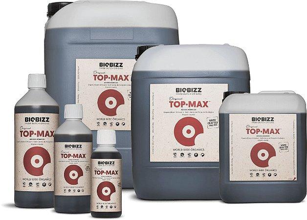 TOPMAX BIOBIZZ opção 250ml, 500ml, 1L, 5L e 10L.