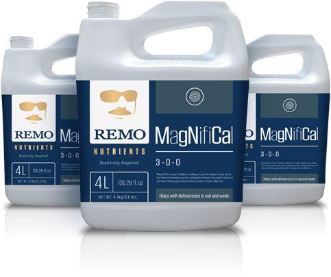 MAGNIFICAL -  Suplemento Cálcio, Ferro e Magnésio REMO NUTRIENTS BRASIL opção de 1L, 4L e 10L