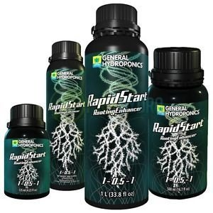 Rapid Start 1-0,5-1 General Hydroponics  - Root Booster Ultra Concentrado de 125ml a 275ml