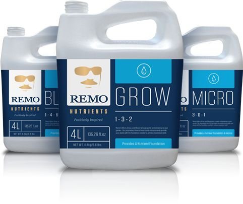 REMO Grow Micro Bloom - REMO NUTRIENTS BRASIL