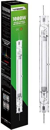 LAMPADA VAPOR METALICO MH 1000W DUPLO ENGATE (DE) SUPER GROW VIVOSUN  - 4000K