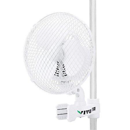 """Mini Ventilador VIVOSUN  6"""" OSCILANTE para Tendas - 2 Velocidades - 110V"""