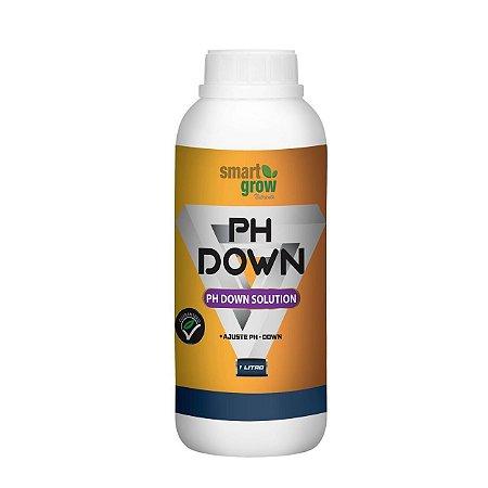 pH Down Super Concentrado para Calibração da Solução Nutritiva - opção de 250ml e 1 Litro