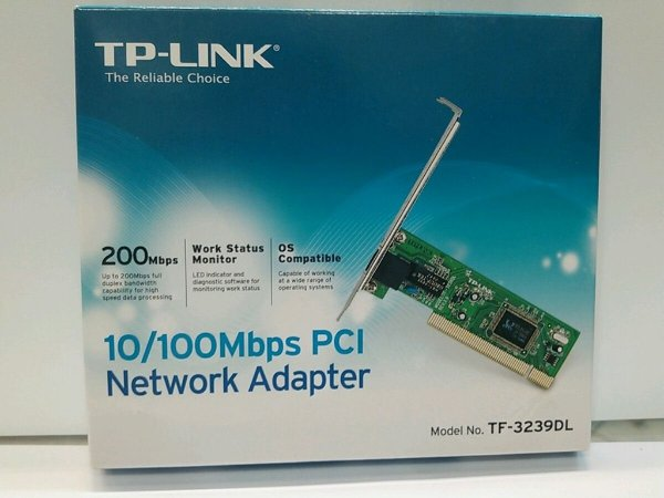 PLACA PCI 10/100MBS TP LINK