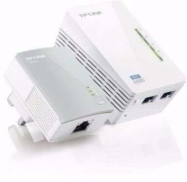 TP-LINK TL-WPA4220KIT POWERLINE EXTENSOR ETHERNET 500MBPS