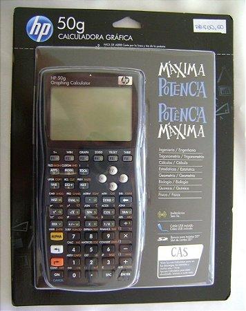 CALCULADORA GRÁFICA HP 50G ORIGINAL COM CAPA PROTETORA