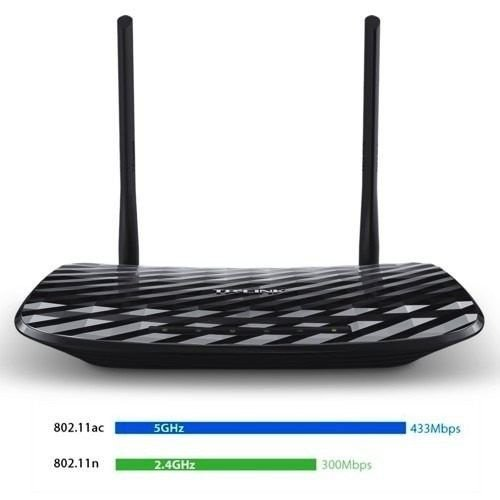 ROTEADOR WIRELESS GIGABIT TP-LINK AC750 DUAL BAND ARCHER C2