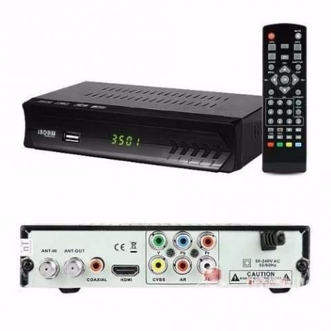 Conversor Digital para TV Set Top Box Hd com Gravador